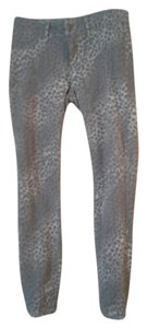 London Jean Skinny Pants Animal Print