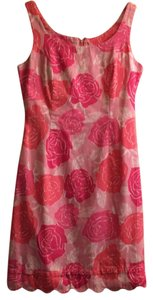 Lilly Pulitzer short dress Pink / white on Tradesy