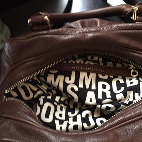 Marc by Marc Jacobs Satchel in Brown Image 2