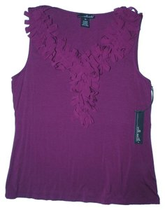Willi Smith Top Plum