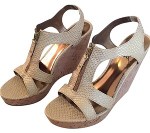 Carlos by Carlos Santana Wedge Nude Wedges