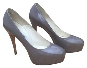 Brian Atwood Charcoal gray Pumps