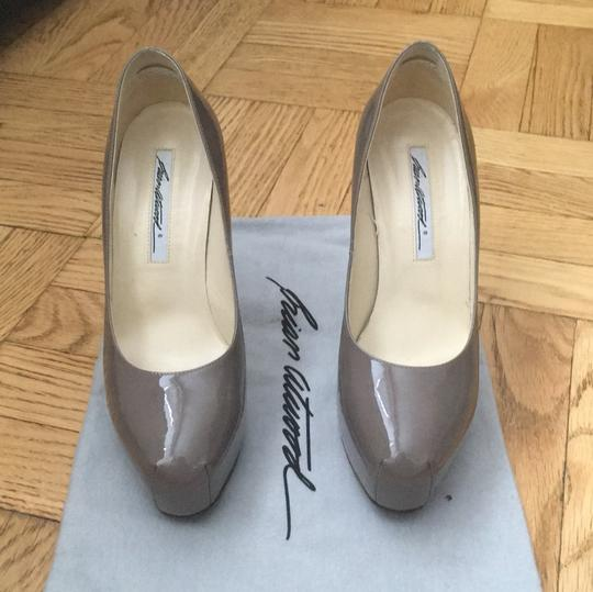 Brian Atwood Charcoal gray Pumps Image 4