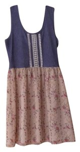 Love Culture short dress Blue, White, Pink, Nude on Tradesy