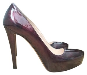 Prada Maroon Pumps