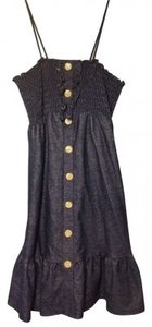 Blu Heaven short dress Indigo on Tradesy
