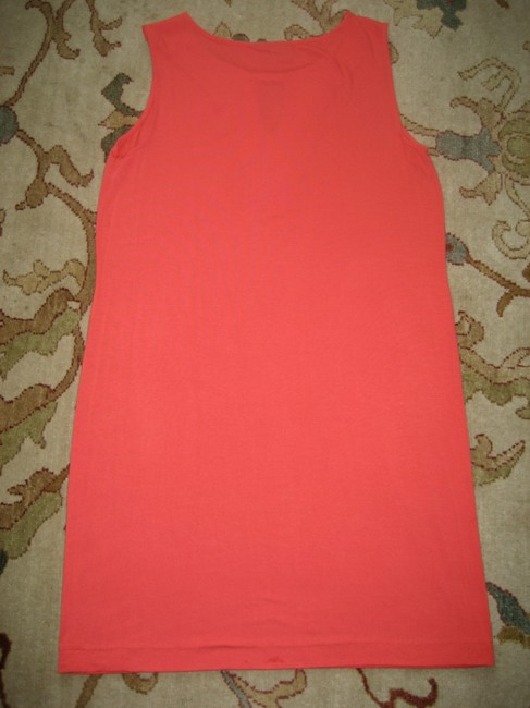 Dana Buchman short dress Pink Coral Sleeveless Beaded Shift on Tradesy Image 3
