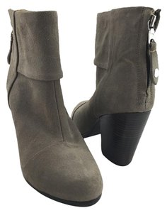 Rag & Bone Ankle Calf Leather And Grey Boots