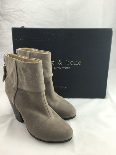 Rag & Bone Ankle Calf Leather And Grey Boots Image 1