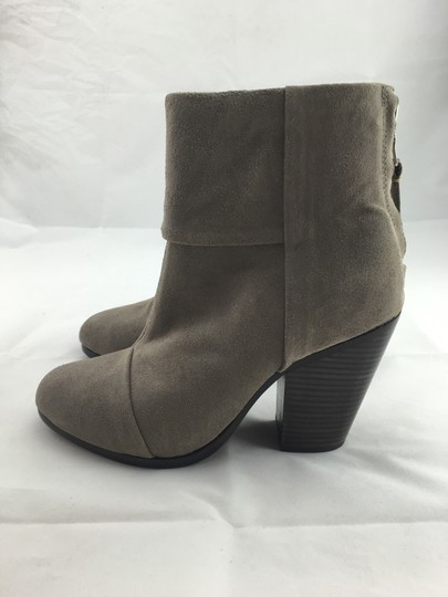 Rag & Bone Ankle Calf Leather And Grey Boots Image 3