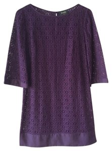 Laundry by Shelli Segal Lace Cotton A-line Casual Party Dress