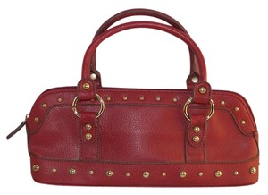 Bisou Bisou Satchel in Red
