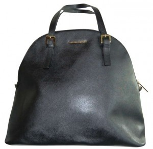 Cynthia Rowley Tote in Black with Gold accents