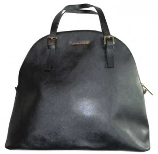 Preload https://item4.tradesy.com/images/cynthia-rowley-black-with-gold-accents-leather-tote-187633-0-0.jpg?width=440&height=440