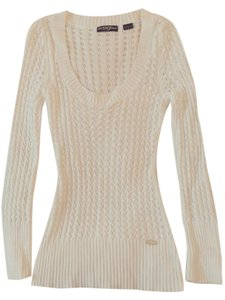 Guess Scoop Neck Knit Sweater