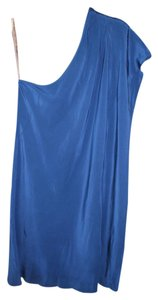 Madison Marcus Grecian One Shoulder Dress