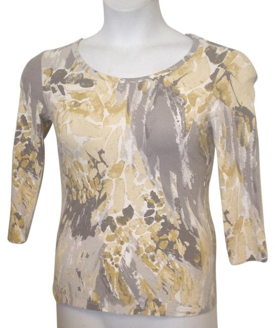 Preload https://img-static.tradesy.com/item/18763684/style-and-co-multi-color-co-gray-mustard-white-watercolor-scoop-neck-knit-blouse-size-petite-4-s-0-2-650-650.jpg