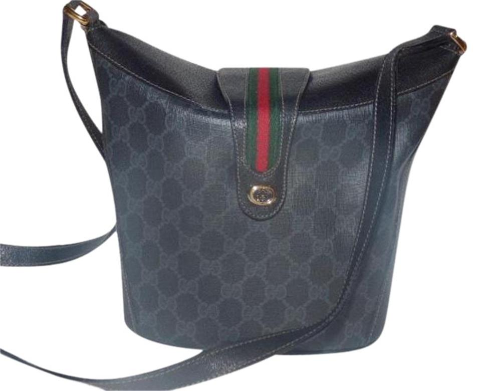 35d56bb47806 Gucci Equestrian Accents Bucket Rare And Unique High-end Bohemian Mint  Condition Satchel in black ...