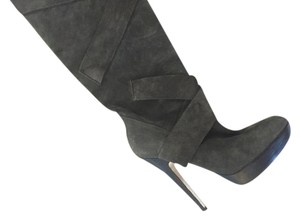Steve Madden Suede Boot Gray Boots