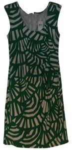 Ann Taylor short dress Green / white on Tradesy