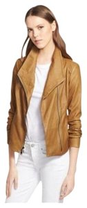Vince Brown Leather Jacket