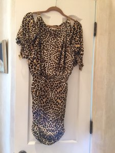 Boston Proper short dress LEOPARD Chains on Tradesy