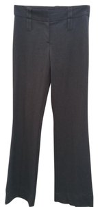 BCBGMAXAZRIA Boot Cut Pants Dark Gray