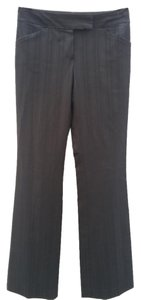 Elie Tahari Straight Pants Black Stripe