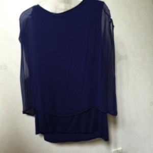 Elie Tahari Top Blueberry