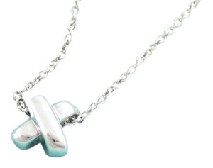 Tiffany & Co. Tiffany & Co Silver Signature X Cross Necklace