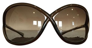 Tom Ford Tom Ford Whitney Oversized Soft Round Sunglasses (FT0009)