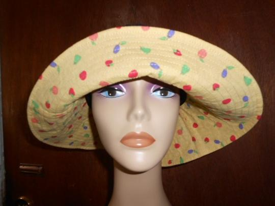 The Hungry Caterpillar Eric Carle Womens The Hungry Caterpillar Eric Carle Wide Brim Sun Hat Large Size Image 3
