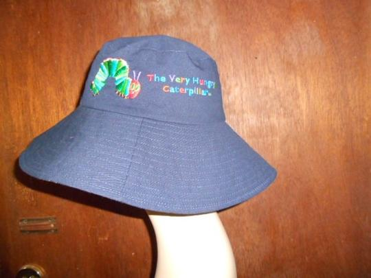 The Hungry Caterpillar Eric Carle Womens The Hungry Caterpillar Eric Carle Wide Brim Sun Hat Large Size Image 4
