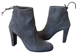 Stuart Weitzman booties boots Perfection Slate Gray Boots