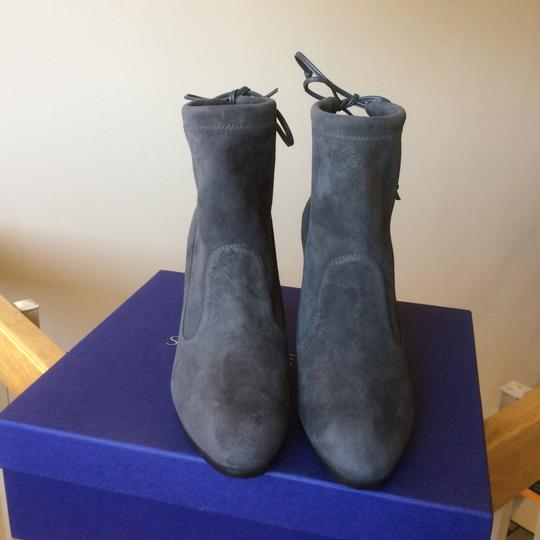 Stuart Weitzman booties boots Perfection Slate Gray Boots Image 1