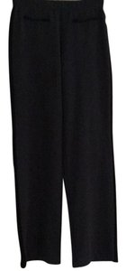 Material Girl Straight Pants Black