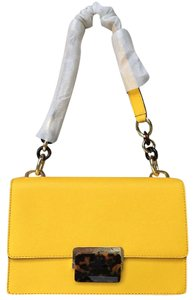Michael Kors Cynthia Small Flap Crossbody Sunflower Shoulder Bag