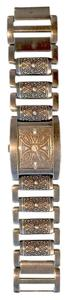 Guess Guess Mens Rectangle UNIQUE Stainless Steel Watch