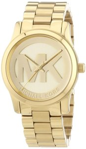 Michael Kors Michael Kors Women's Runway Gold Tone St Steel Wrist watch MK5786