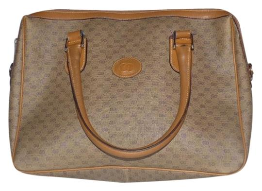 Preload https://img-static.tradesy.com/item/18766273/gucci-vintage-pursesdesigner-purses-shades-of-brown-with-small-g-logo-leathercoated-canvas-satchel-0-1-540-540.jpg