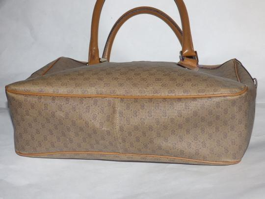 Gucci Doctor's Speedy/Boston Shades Of Removable Strap Satchel in brown small G logo print coated canvas and camel leather Image 10