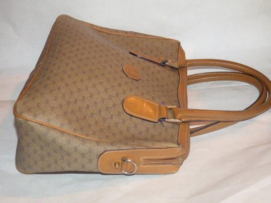 Gucci Doctor's Speedy/Boston Shades Of Removable Strap Satchel in brown small G logo print coated canvas and camel leather Image 5