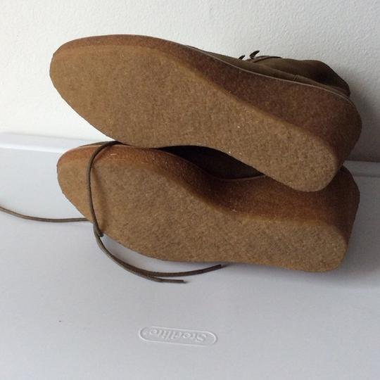 Vince Camuto Signature New With Tags Shearling Designer Oliva Wedges Image 3