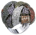 Other Oversized Bold Chunky Cocktail Ring [SHIPS NEXT DAY] Image 0