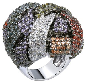 Other Oversized Bold Chunky Cocktail Ring [SHIPS NEXT DAY]