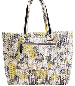 STEVE MADDEN TOTE Tote in Grey/Yellow