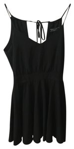 Lucy Love Little Black Skater Dress