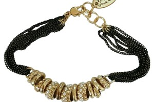 Nicole Miller Nicole Miller NWT gold and pearl bracelet