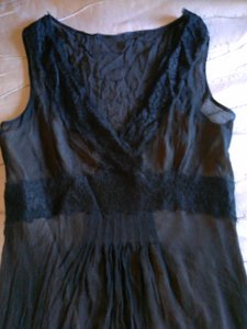 Ann Taylor LOFT 100% Silk Crepe Lined Dress