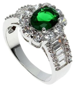 Other Cubic Zirconia Emerald Ring [SHIPS NEXT DAY]
